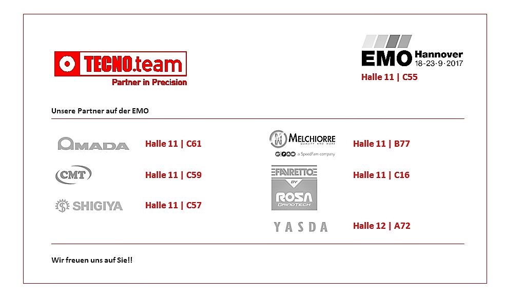 Zukunftsweisende Technologien Auf Der EMO 2017